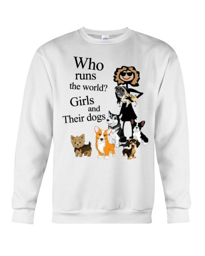 Cow Why Runs The World Girls Dogs