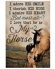 Horse All of me loves all off you Tee 11x17 Poster front