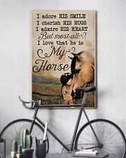 Horse All of me loves all off you Tee 11x17 Poster lifestyle-poster-7