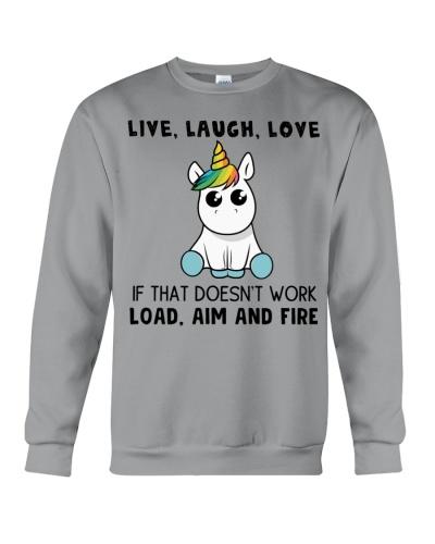 Unicorn Live Love Laugh