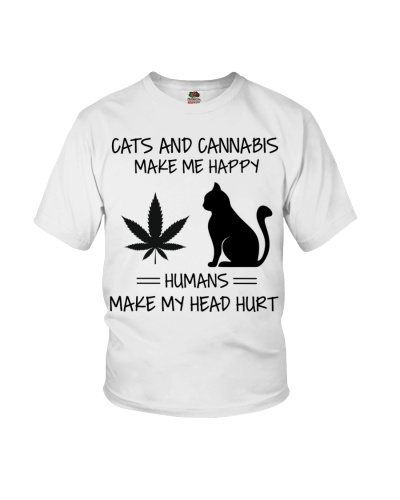 Cats And Cannabis Make Me Happy
