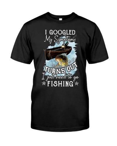 Fishing I Googled My Symptoms