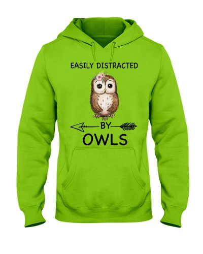Owl Easily Distracted By Owls