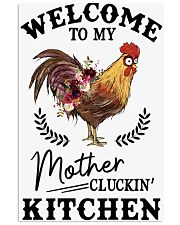 Chicken Welcomet To My Mother 16x24 Poster front