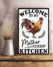 Chicken Welcomet To My Mother 16x24 Poster lifestyle-poster-3