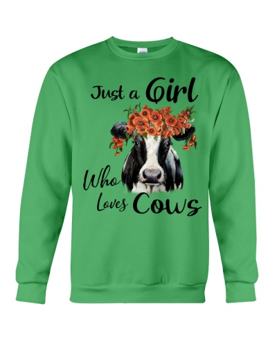 Cow Just A Girl Who Loves Cows