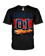 DOH - General Lee V-Neck T-Shirt thumbnail