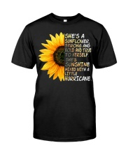 She Is A Sunflower Strong And Bold Classic T-Shirt front