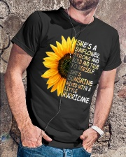 She Is A Sunflower Strong And Bold Classic T-Shirt lifestyle-mens-crewneck-front-4