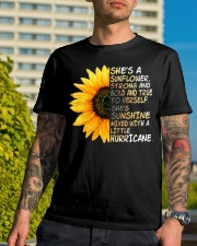 She Is A Sunflower Strong And Bold Classic T-Shirt lifestyle-mens-crewneck-front-8