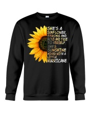 She Is A Sunflower Strong And Bold Crewneck Sweatshirt thumbnail