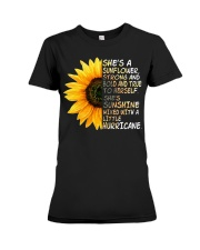 She Is A Sunflower Strong And Bold Premium Fit Ladies Tee thumbnail