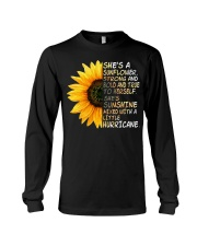 She Is A Sunflower Strong And Bold Long Sleeve Tee thumbnail
