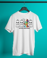 It Is To Be Different Autism Awareness Classic T-Shirt lifestyle-mens-crewneck-front-3