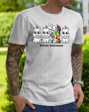 It Is To Be Different Autism Awareness Classic T-Shirt lifestyle-mens-crewneck-front-7