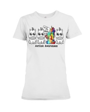 It Is To Be Different Autism Awareness Premium Fit Ladies Tee thumbnail