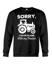Sorry I Have Plans With My Tractor Crewneck Sweatshirt thumbnail
