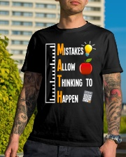 Mistakes Allow Thinking To Happen Classic T-Shirt lifestyle-mens-crewneck-front-8