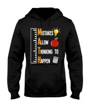 Mistakes Allow Thinking To Happen Hooded Sweatshirt thumbnail