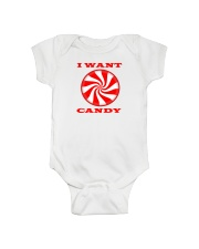 I Want Candy Youth Tee Onsie And Or Tote Bag Onesie thumbnail