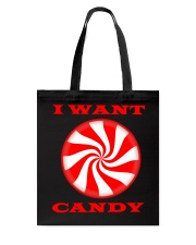 I Want Candy Youth Tee Onsie And Or Tote Bag Tote Bag thumbnail