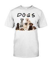 DOGS Classic T-Shirt front