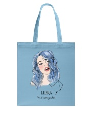 Libra Girl Accessorize  Tote Bag front