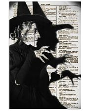 Wizard of Oz Wicked Witch Artwork 11x17 Poster front