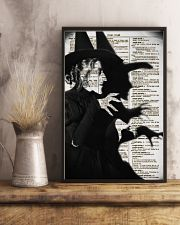 Wizard of Oz Wicked Witch Artwork 11x17 Poster lifestyle-poster-3