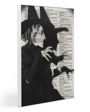 Wizard of Oz Wicked Witch Artwork 20x30 Gallery Wrapped Canvas Prints thumbnail