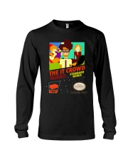The IT Crowd NES game video game T shirt funny p Long Sleeve Tee thumbnail