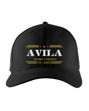 AVILA Embroidered Hat front