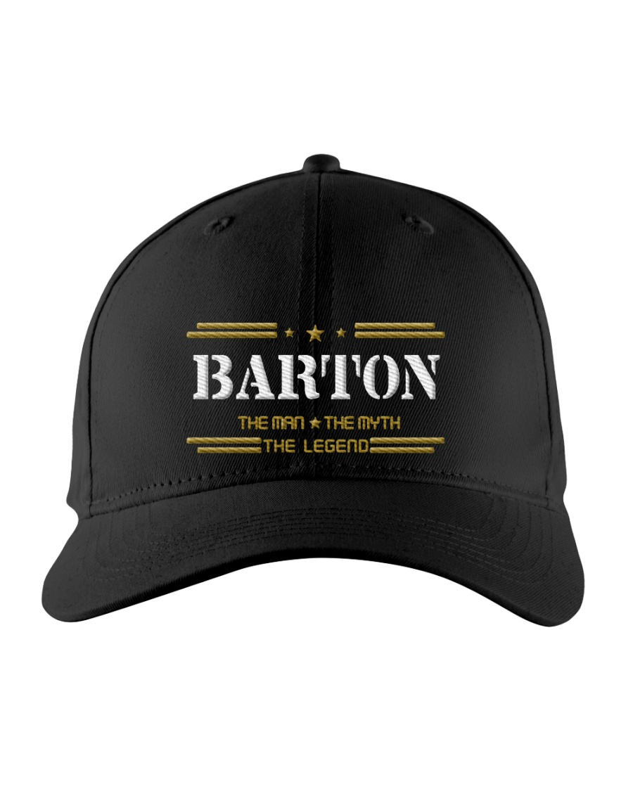 BARTON Embroidered Hat