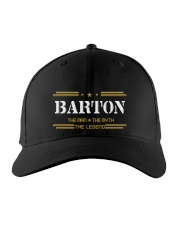 BARTON Embroidered Hat front