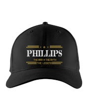 PHILLIPS LEGEND Embroidered Hat front