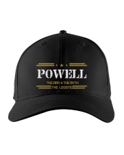 POWELL Embroidered Hat front