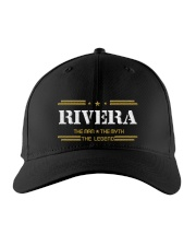 RIVERA Embroidered Hat front