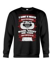 Airborne Airborne Toxic Event Airborne Airborne Fu Crewneck Sweatshirt thumbnail