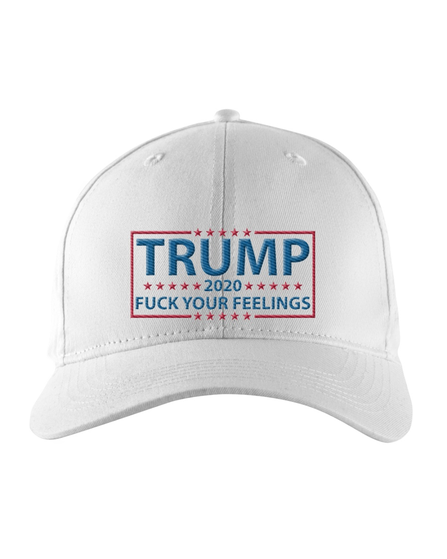 Trump 2020 Fuck Your Feelings hats Embroidered Hat