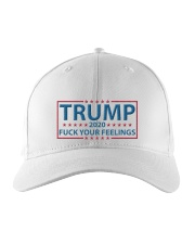 Trump 2020 Fuck Your Feelings hats Embroidered Hat front