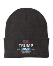 trump 2020 make liberals cry again Knit Beanie front