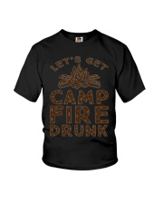 LETS GET CAMPFIRE DRUNK Youth T-Shirt thumbnail
