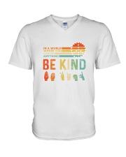 Be Kind V-Neck T-Shirt front