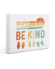 Be Kind 14x11 Gallery Wrapped Canvas Prints thumbnail