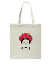 Frida silhouette Tote Bag thumbnail