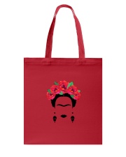 Frida silhouette Tote Bag front