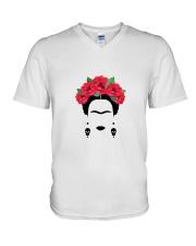 Frida silhouette V-Neck T-Shirt thumbnail