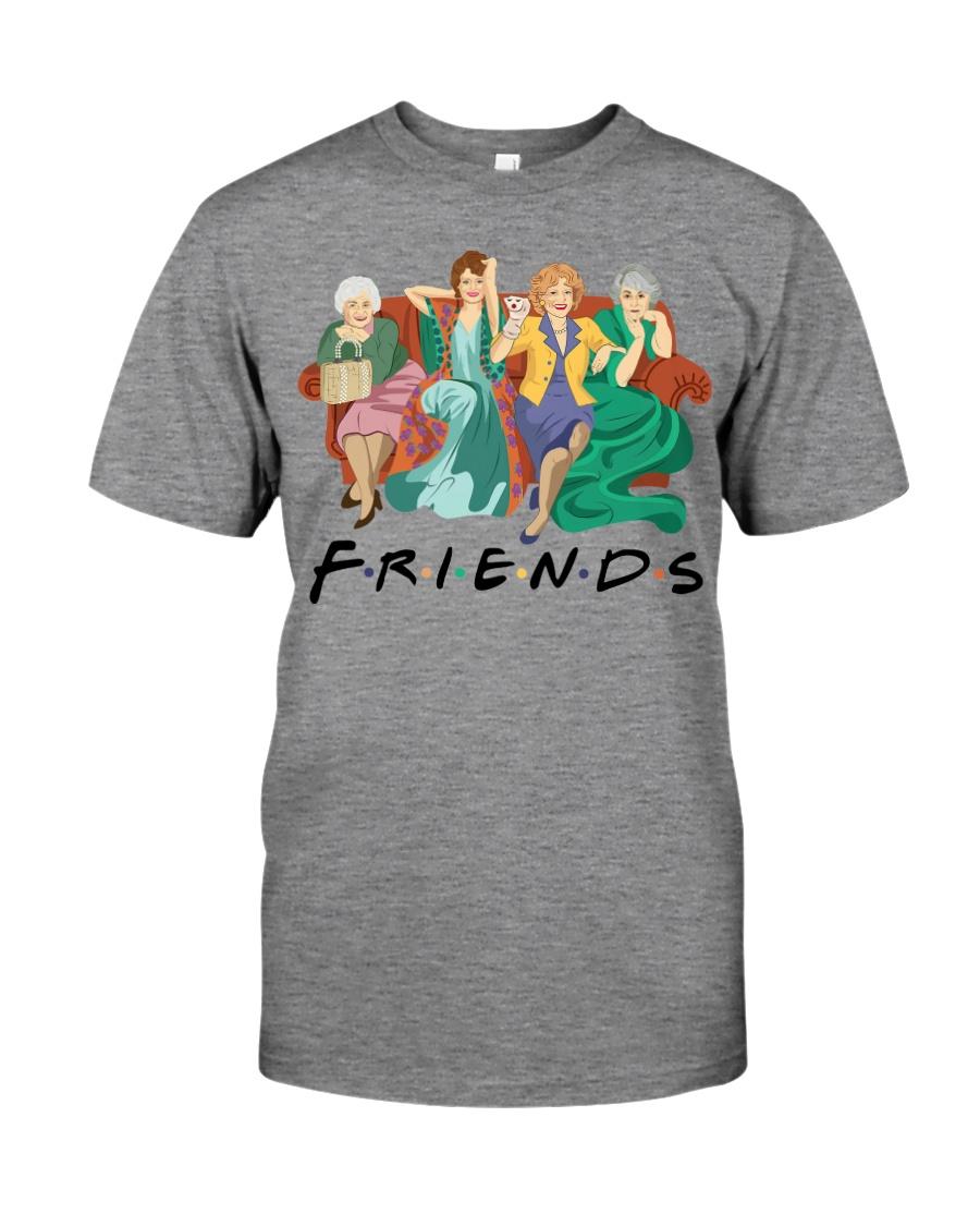 Friends are Golden Premium Fit Mens Tee