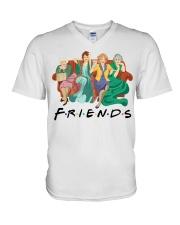 Friends are Golden V-Neck T-Shirt thumbnail