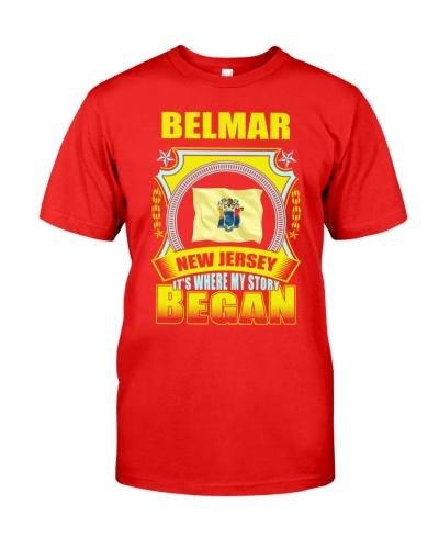 My story began in Belmar-NJ TShirt